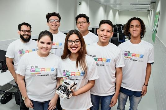 Resultado de imagem para Estudantes do SENAI Ceará participam de seletiva para competição internacional