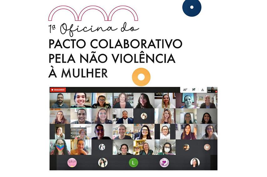 FIEC participa da primeira oficina para Pacto Colaborativo pela Não Violência à Mulher